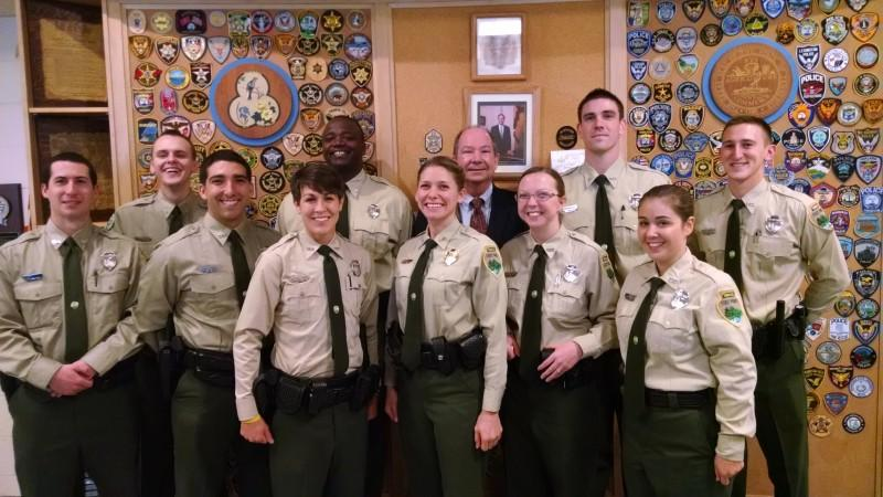 Nine Tennessee State Park Rangers Graduate From Tleta Tennessee State Parks